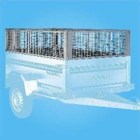 Rehausse de ridelles grillagées pour remorque Pratik PR200 - SOREL