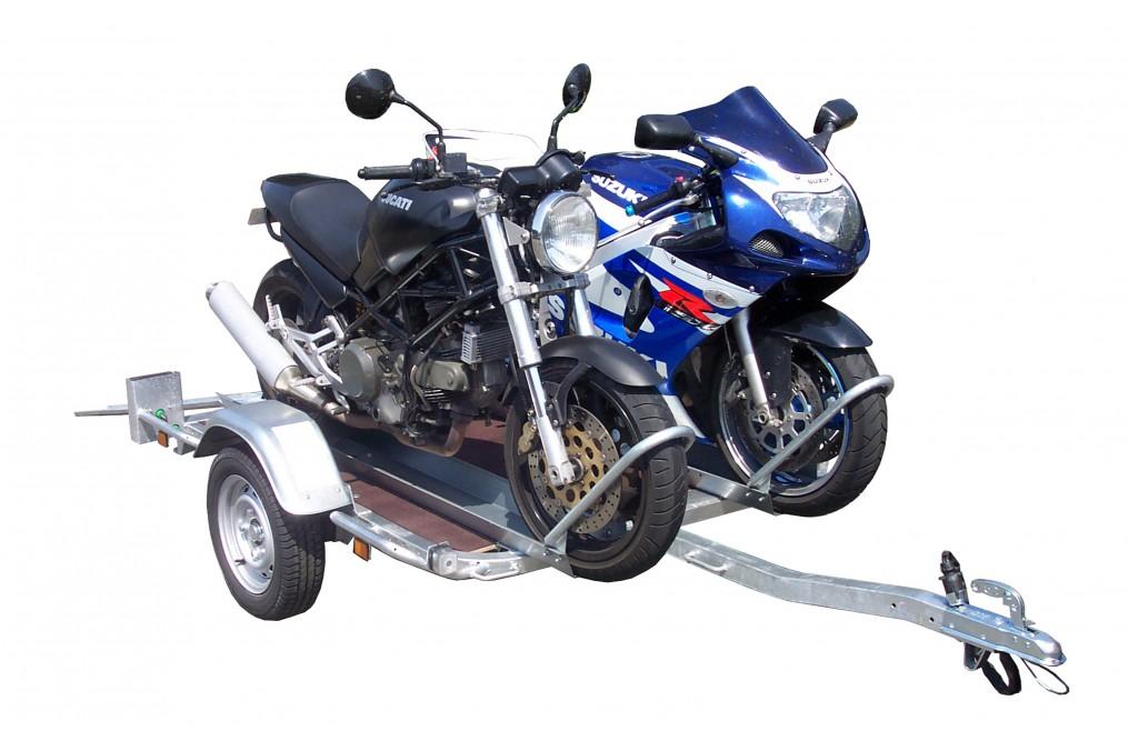 Remorque lider porte moto 34401 latour remorques for Porte u moto