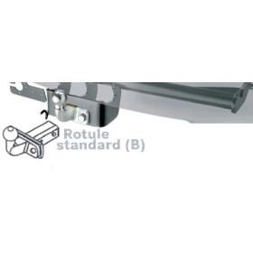 Attelage rotule standard Boisnier pour Toyota Hilux VII depuis 2010