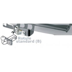 Attelage rotule standard Siarr pour Renault Master III fourgon depuis 2010