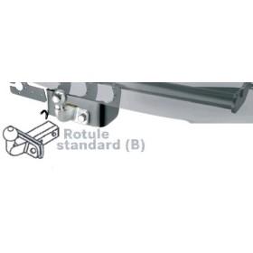 Attelage rotule standard Brink pour Volkswagen Touran I de 2003 à 2010