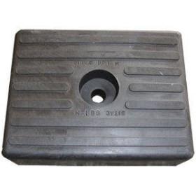 Patin noir PM 120mm 1 trou