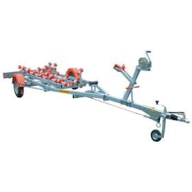 Remorque porte bateaux à moteur Mecanorem PTAC 2T