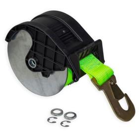 Bobine avec Sangle verte et guide pour Treuil TS1600 + crochet