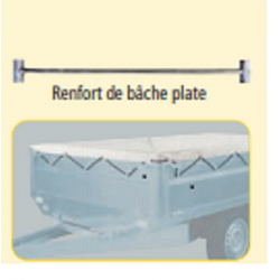 BARRE de RENFORT BACHE PLATE