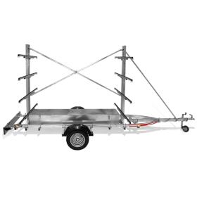 Remorques ROCCA TRANSPORT PLANCHES A VOILES PTAC 320KG