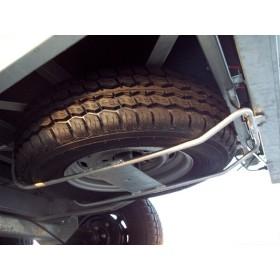 Support de roue de secours Lider pour plateau 4m et 5m