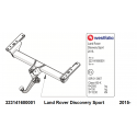 ATTELAGE DEMONTABLE SANS OUTILS POUR LANDER ROVER DISCOVERY SPORT SIARR