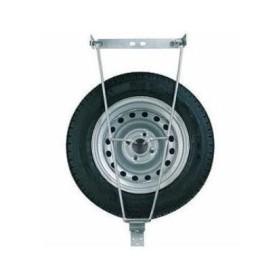 Support roue de secours remorque plateau - SARIS