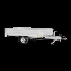 Remorque plateau 1500 kg (276x150) - SARIS