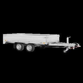 Remorque plateau 3500 kg (306x170) - SARIS