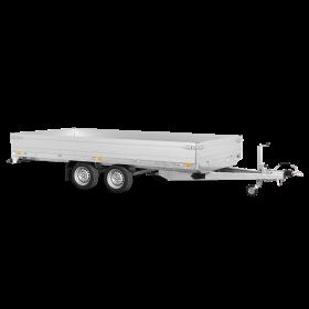 Remorque plateau 2700 kg (356x184) - SARIS