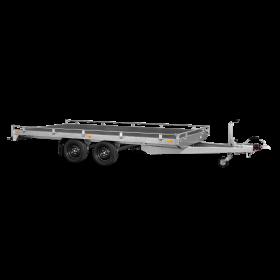 Remorque transporteur 2700 (406 x 204) Double - SARIS