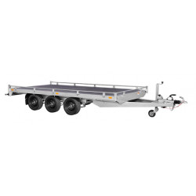 Remorque transporteur 3500 (406 x 204) Triple - SARIS