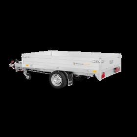 Remorque benne 1500 kg (256x150) - SARIS