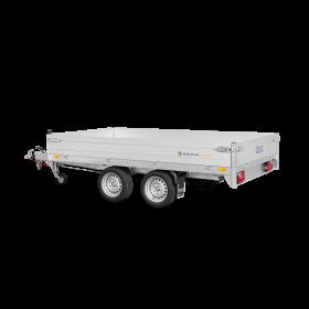 Remorque benne 2000 kg (276x170) Double - SARIS