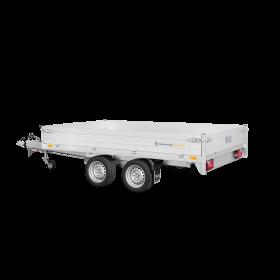 Remorque benne 2700 kg (306x184) Double - SARIS