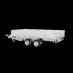 Remorque benne 3500 kg (356x170) Double - SARIS