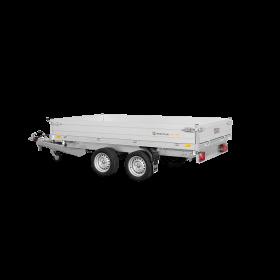 Remorque tribenne 2700 kg (306x170) Double - SARIS