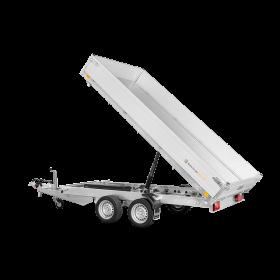 Remorque tribenne 3500 kg (306x170) Double - SARIS