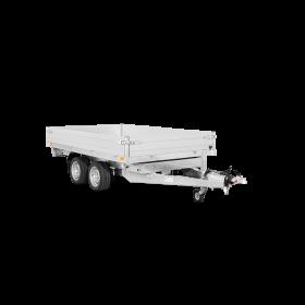 Remorque tribenne 3500 kg (306x184) Double - SARIS