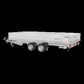 Remorque tribenne 3500 kg (356x184) Double - SARIS