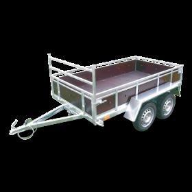 Remorque bois nue 96002SB - PTAC 500 KG (236 X 129) - SOREL
