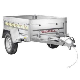 Remorque Rustique R170NUE - PTAC 500kg (170 x 124) - SOREL