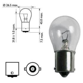Ampoule Ronde 12V 21W (lot de 2) - MAITRE EQUIPEMENT