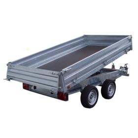 Remorque benne 33612PE - PTAC 2700 kg (306 x 170) - LIDER